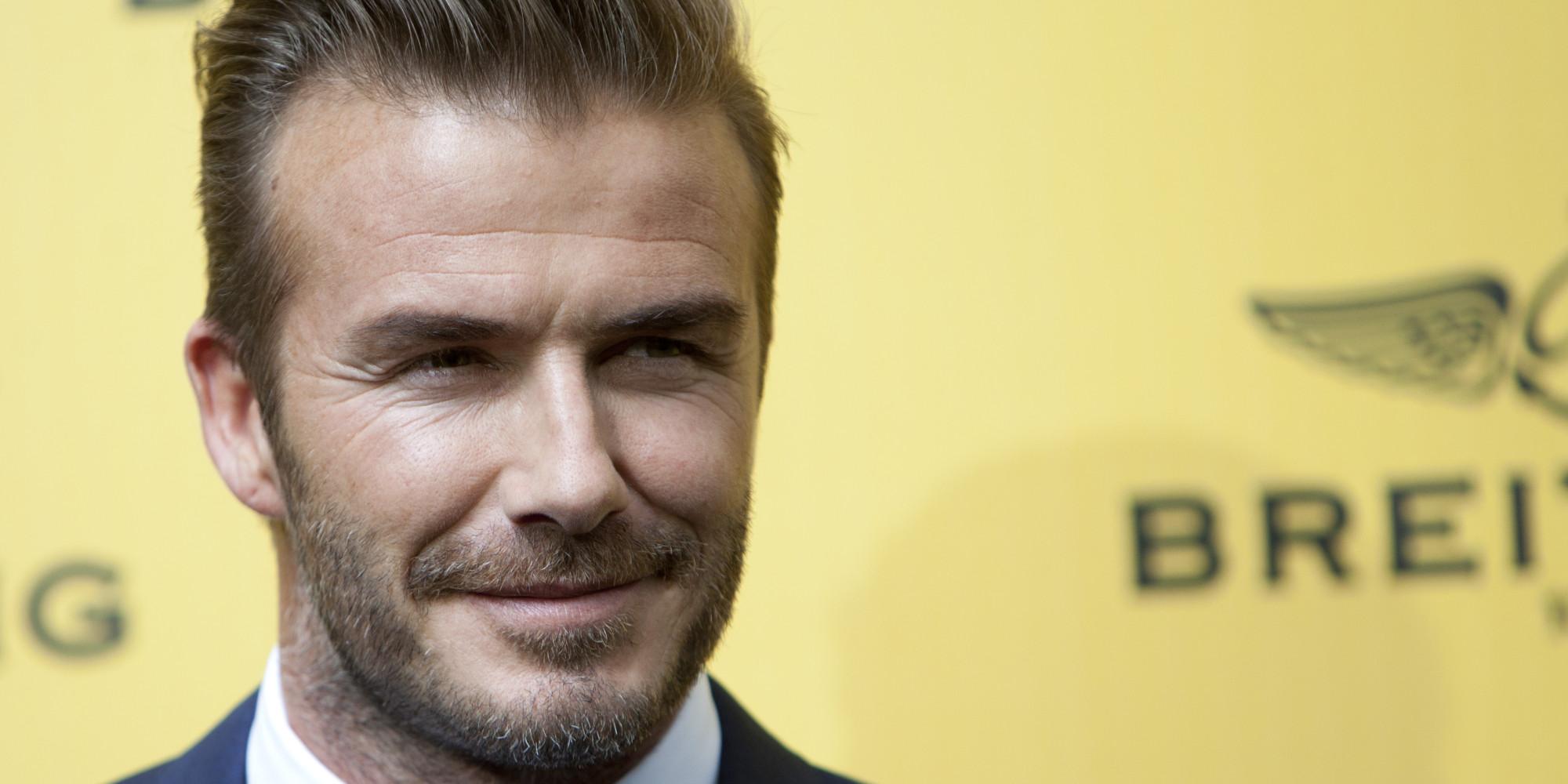 David Beckham élu l'homme le plus sexy selon People David Beckham Facebook