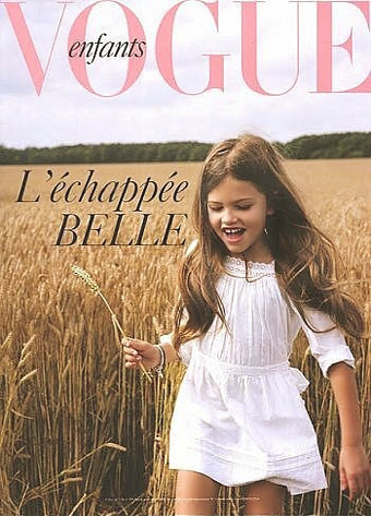 Thylane Loubry Blondeau, 10-Year-Old Model, Ignites Debate Over