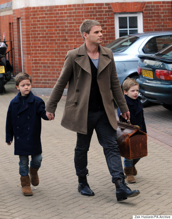 jeff brazier and sons remember jade goody with monthly