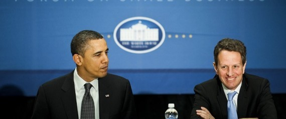 Obama Urges Geithner To Stay Onboard