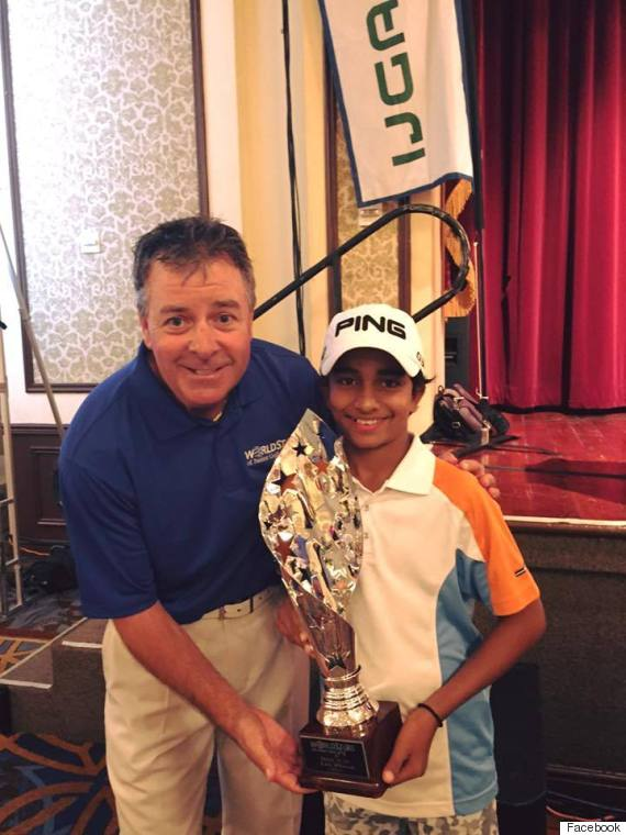 junior golf shubham jaglan