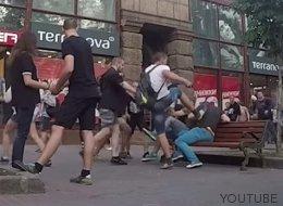 Lo que pasa si eres gay en Kiev (VÍDEO)