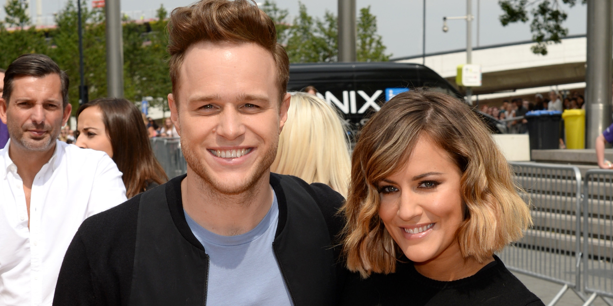 Olly murs black t shirt x factor -  X Factor 2015 Caroline Flack And Olly Murs To Miss Judges Houses As Part Of Live Revamp Huffpost Uk