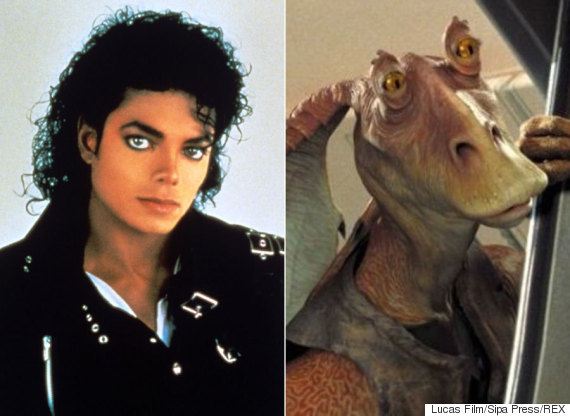 michael jackson jar jar binks