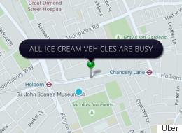 Looks Like Uber Might Have Underestimated How Many People Would Want Free Ice Cream...