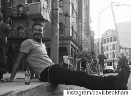 David Beckham's Best Fashion Moments On Instagram