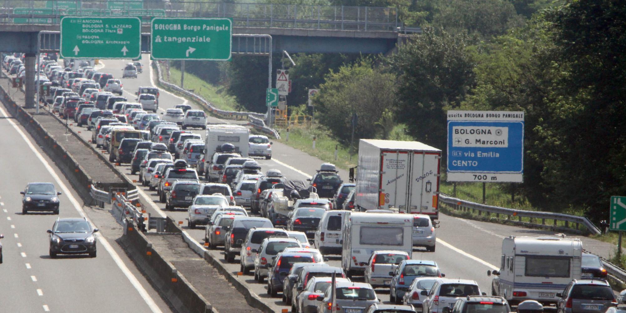 autostrada milano rimini traffico - photo#9