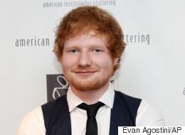 Ed Sheeran achète une sculpture de lui-même... en forme de cochon!