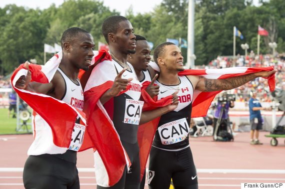 pan am canada mens relay