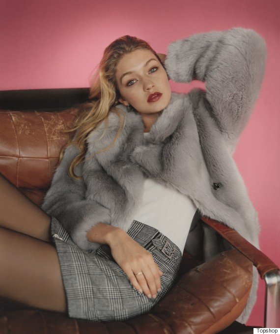 Gigi Hadid Topshop Campaign: Supermodel Is The New Face ...