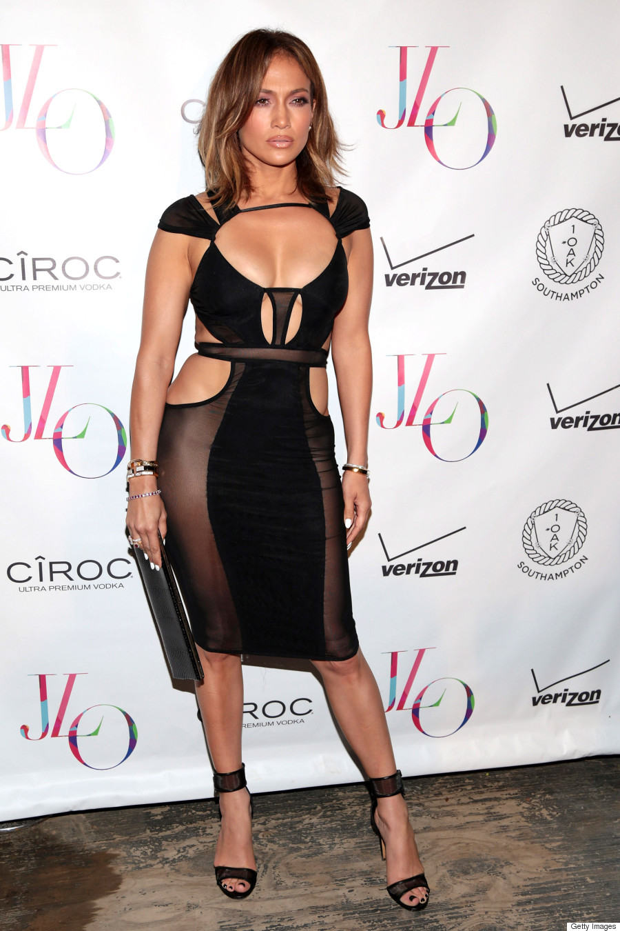 jennifer lopez birthday dress
