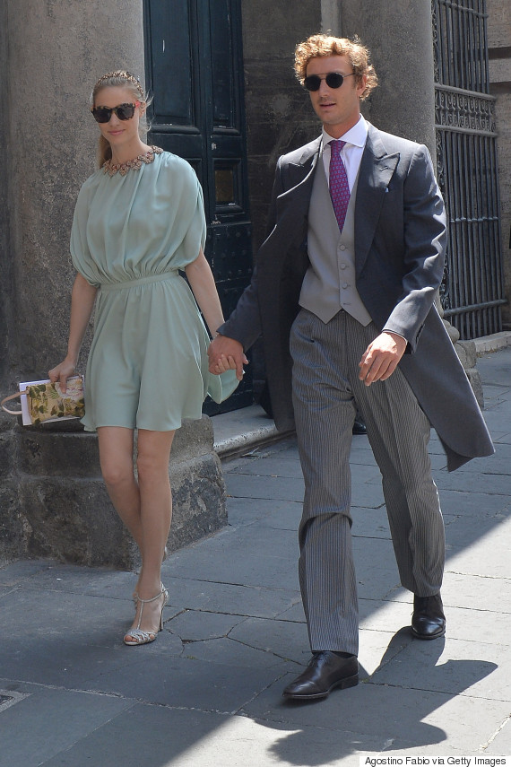 Beatrice Borromeo Wows In Pink Wedding Dress After Marrying Grace Kellys Grandson Pierre Casiraghi
