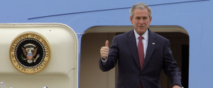 George Bush Thumbs Up