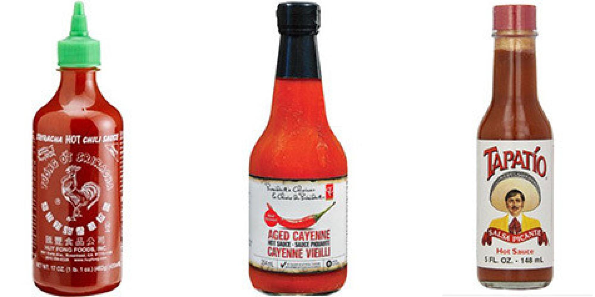Sodium In Hot Sauces, Ranked