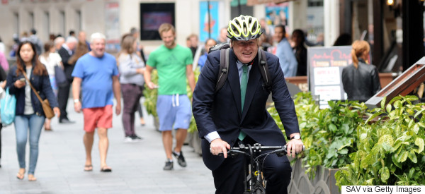 Boris Apologises For Giving His Barrister Wife A 'Backie' On His Bike