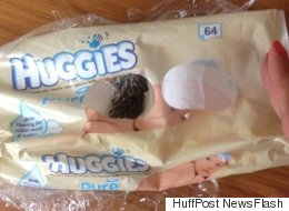 Horrified Mother Finds Dead Mouse In Packet Of Baby Wipes