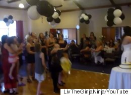 Flower Toss Gets Intense After Guest Drops A Baby To Catch The Bouquet
