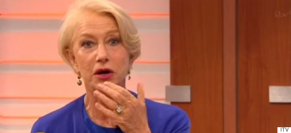 Helen Mirren Turns Air Blue During Daytime TV Appearance