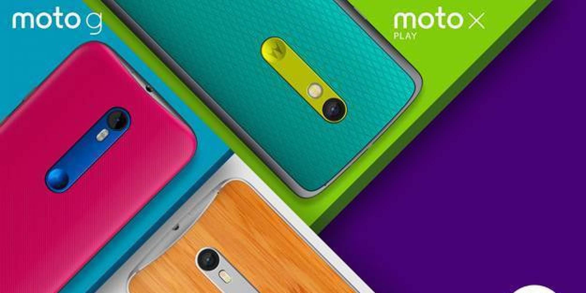 Motorola Unveils New Moto G And Moto X Smartphones ...