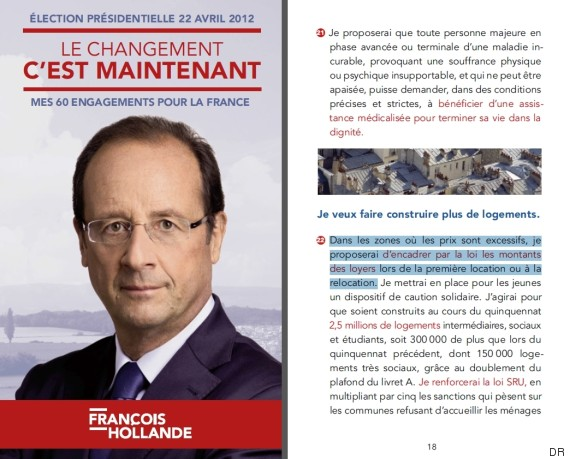 hollande loyers