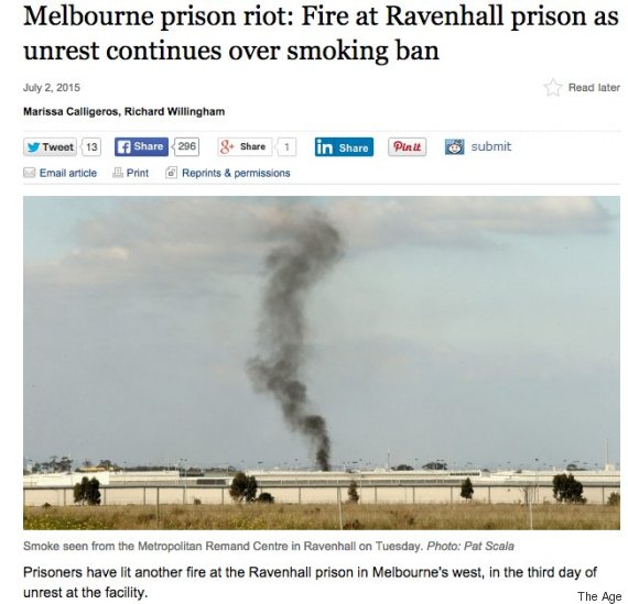 prison smoking