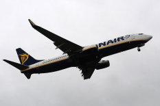 A Ryanair plane | Pic: PA