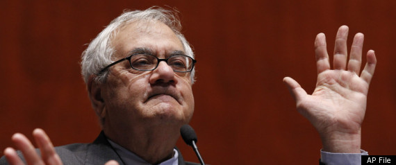 BARNEY FRANK DOWNGRADE MILITARY SPENDING