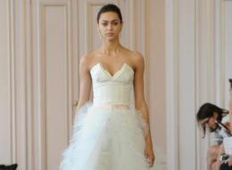 10 Two-Piece Wedding Looks For Brides Who Want To Push The Envelope