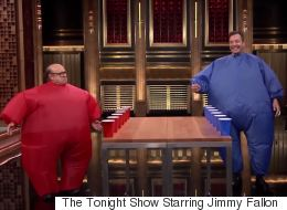 Danny Devito And Jimmy Fallon Played A Hilarious Drinking Game Last Night