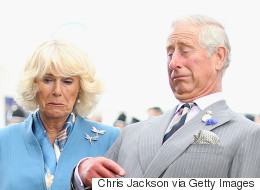 What's Making Charles And Camilla's Faces Go Funny?