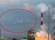Swarm Of 10 UFOs Captured Hovering Above Japan