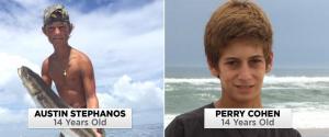 ADOLESCENTES PERDIDOS MAR