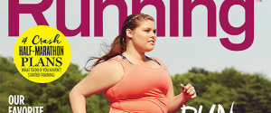 RUNNING MAGAZINE PLUS SIZE MODEL