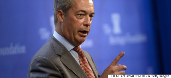 Twitter Backlash After Farage's 'Inflammatory' Calais Migrant Crisis Comments