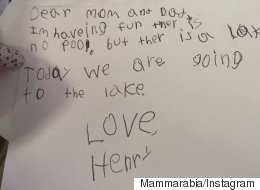 ' I Don't Miss You': Parents Share Kids' Weird And Wonderful #LettersFromCamp