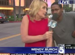 This Local News Videobomb Went Terribly For Everyone Involved