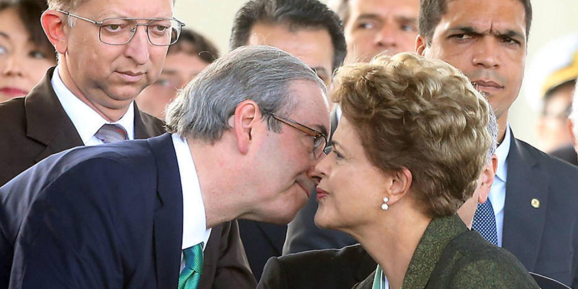 """""""Amor"""" entre PT e Cunha acaba e processo de Impeachment contra Dilma é aberto"""