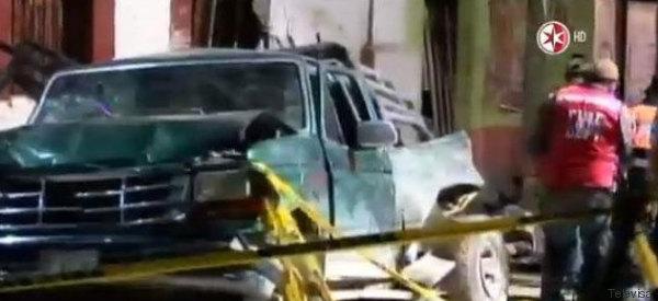 CAMIÓN MATA A 23 PEREGRINOS EN MÉXICO (EXPLÍCITO)