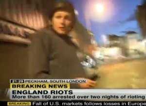 London Riots Reporters Attacked