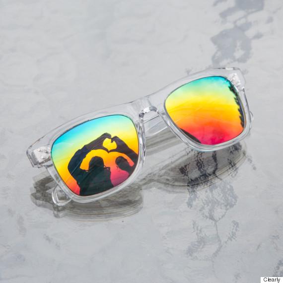rainbow sunglasses