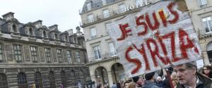 Syriza Protest