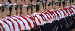 North Korea Students
