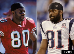 Jerry Rice Randy Moss