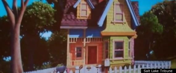 DISNEY PIXAR UP HOUSE REPLICA UTAH