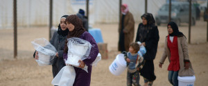 SYRIAN REFUGEES JORDAN FOOD