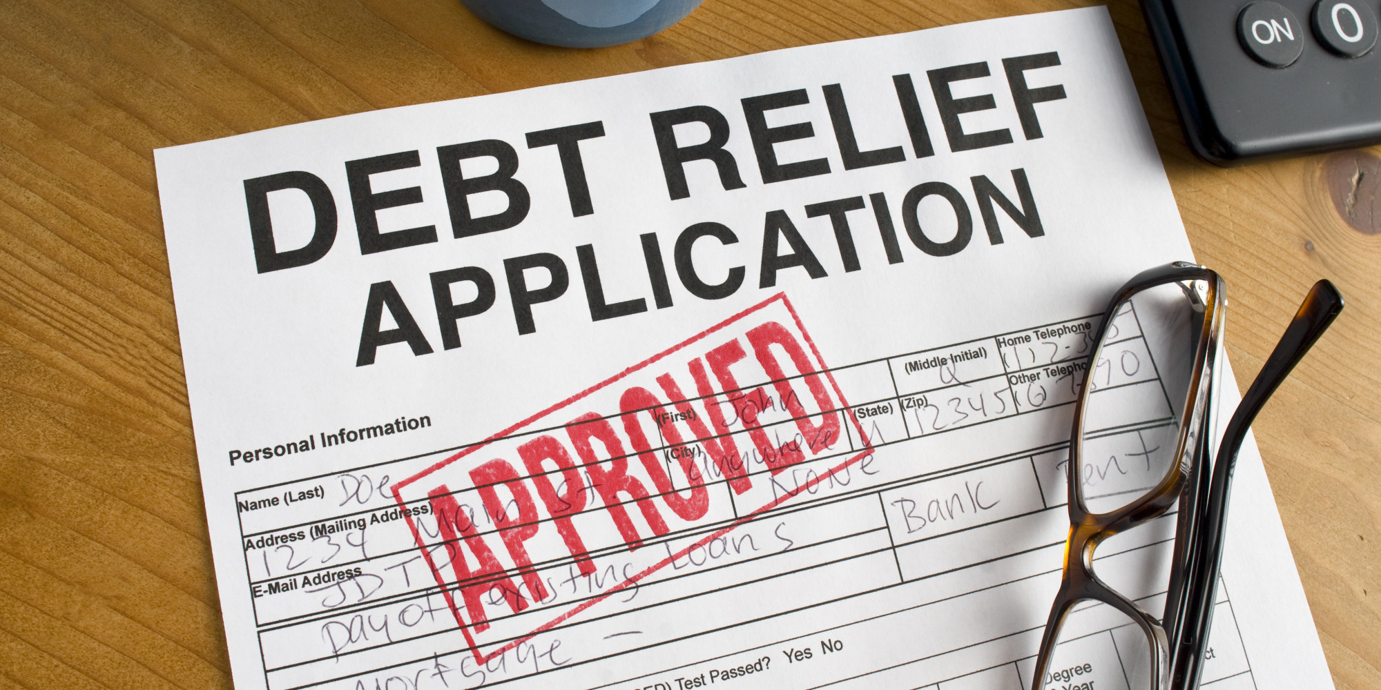 Get Your FREE Debt Relief Quot...