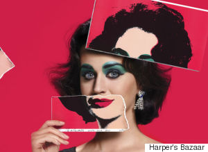 Katy Perry Channels Elizabeth Taylor For Harper's Bazaar Icons Spread