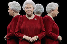 The Queen by Hugo Rittson Thomas | Pic: PA