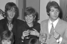 Cilla Black with the Beatles | Pic: Getty
