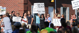 Cecil Protest